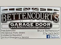 Bettencourt's Garage Door